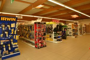 Rayons magasin cqm